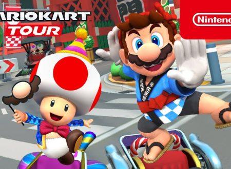 Mario Kart Tour: svelato l'arrivo imminente del Tour di Capodanno nel titolo mobile