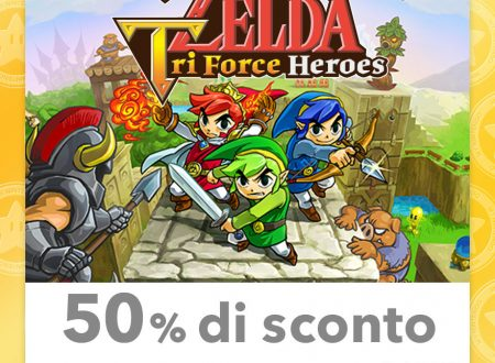 My Nintendo: nuovi temi e sconti per The Legend of Zelda: Tri Force Heroes, Detective Pikachu ed altri