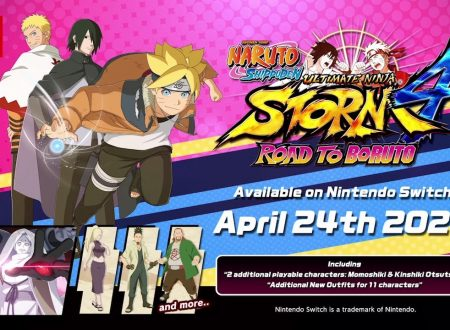 Naruto Shippuden: Ultimate Ninja Storm 4 Road to Boruto sarà disponibile il 23 aprile anche sui Nintendo Switch europei
