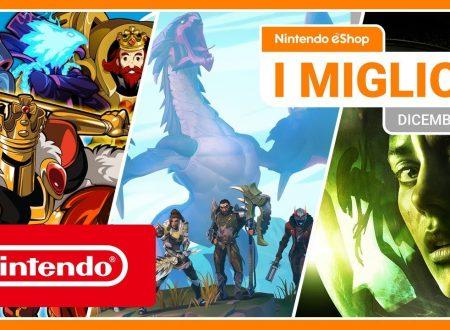 Nintendo eShop: video highlights dei titoli del mese di dicembre 2019