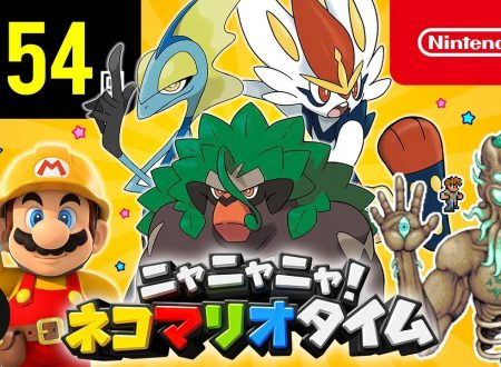 Nyannyan Neko Mario Time: pubblicato l'episodio 154 dello show felino con Mario e Peach