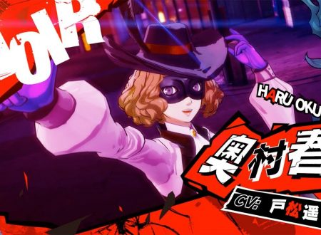 Persona 5 Scramble: The Phantom Strikers, pubblicato un trailer dedicato a Haru Okumura