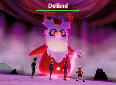 Pokèmon Spada e Scudo: il Raid Dynamax di Delibird e' ora disponibile per le festività natalizie