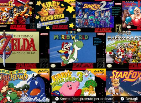 SNES – Nintendo Switch Online: ora disponibile la versione 1.1.0 sui Nintendo Switch europei