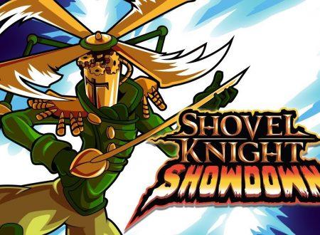 Shovel Knight Showdown, pubblicato un nuovo trailer dedicato a Propeller Knight