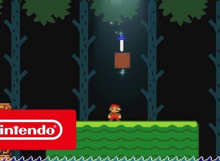 Super Mario Maker 2: il titolo presto aggiornato alla versione 2.0 sui Nintendo Switch europei