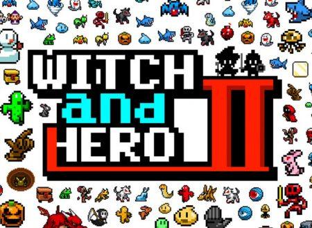 Witch and Hero 2: il titolo è in arrivo il 19 dicembre sui Nintendo Switch giapponesi