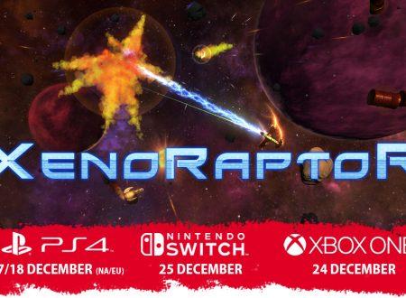 XenoRaptor: il twin-stick shooter in arrivo il 25 dicembre sull'eShop di Nintendo Switch