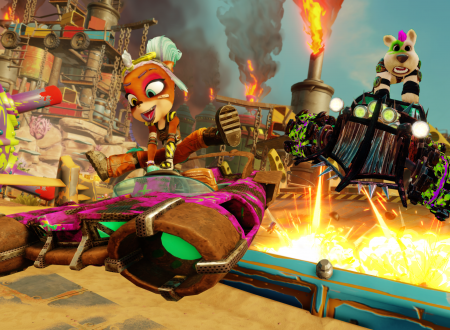 Crash Team Racing Nitro-Fueled: svelato l'arrivo del Rustland Grand Prix