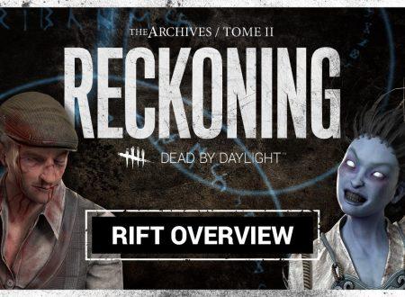 Dead by Daylight: sguardo al secondo tomo del Rift, Reckoning, con protagonisti Spirito, Dottore, David King e Jane Romero