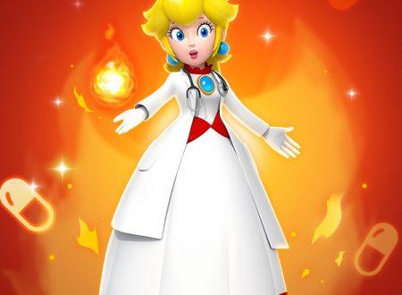 Dr. Mario World: Dr. Mario Fuoco, Peach Fuoco e nuovi stage in arrivo nel titolo mobile
