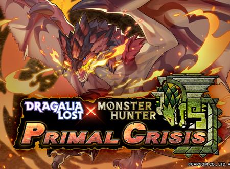 Dragalia Lost: ora disponibile l'evento crossover, MONSTER HUNTER PRIMAL CRISIS