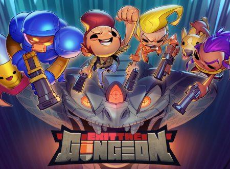 Exit the Gungeon: il titolo aggiornato alla versione 2.1.0 su Nintendo Switch