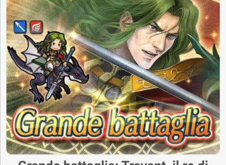 Fire Emblem Heroes: ora disponibile la grande battaglia: Travant, il re di Thracia