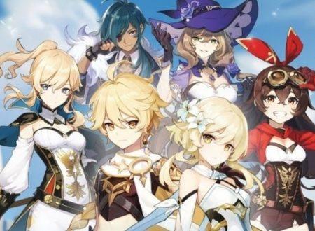 Genshin Impact: il titolo annunciato per l'arrivo anche sull'eShop di Nintendo Switch