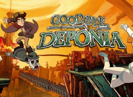 Goodbye Deponia e Deponia Doomsday: uno sguardo in video ai due titoli dall'eShop di Nintendo Switch