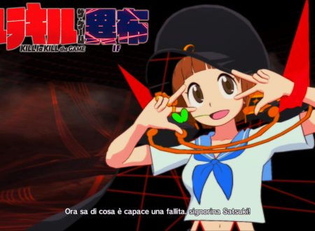 Kill la Kill the Game: IF, uno sguardo in video a Mako Mankanshoku dai Nintendo Switch europei