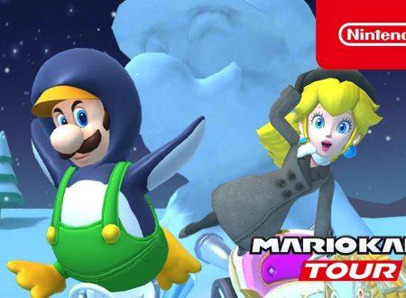 Mario Kart Tour: pubblicato un nuovo trailer dedicato al Tour sottozero