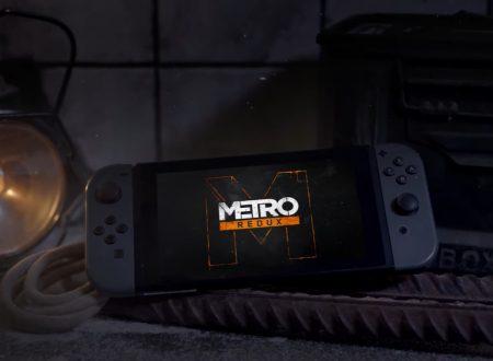 Metro Redux in arrivo ufficialmente il 28 febbraio sui Nintendo Switch europei