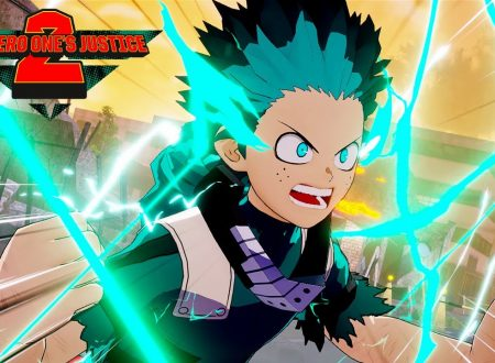 My Hero One's Justice 2: pubblicato il gameplay, Izuku Midoriya Full Cowling 100% vs. Kai Chisaki