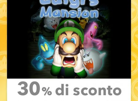 My Nintendo: nuovi sconti per Luigi's Mansion, Super Smash Bros. for Nintendo 3DS ed altri