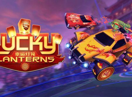 Rocket League: annunciato l'arrivo del nuovo evento, Lucky Lanterns