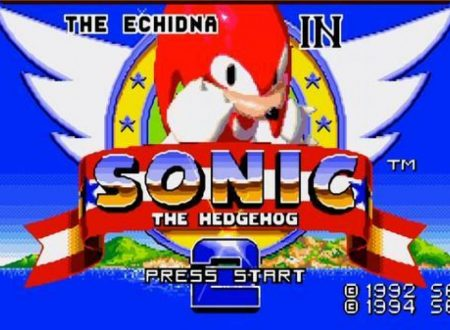 Sega Ages Sonic the Hedgehog 2: il titolo includerà Knuckles the Echidna in Sonic the Hedgehog 2