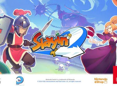 Slayin 2: l'action RPG e' in arrivo prossimamente sull'eShop di Nintendo Switch