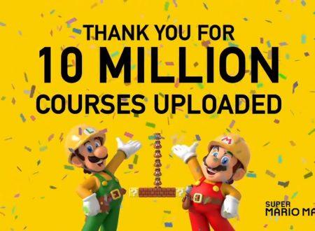 Super Mario Maker 2: superati i 10 milioni di livelli creati nel titolo in tutto il mondo