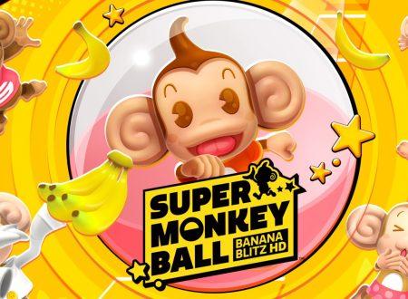 Super Monkey Ball: Banana Blitz HD, il titolo aggiornato alla versione 1.0.3 su Nintendo Switch