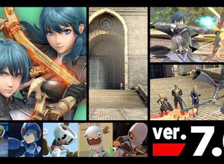 Super Smash Bros. Ultimate: il titolo aggiornato alla versione 7.0.0 su Nintendo Switch