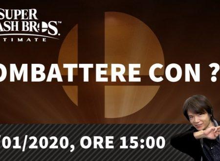 Super Smash Bros. Ultimate: svelata una nuova presentazione dedicata al nuovo personaggio DLC il 16 gennaio