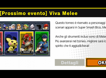 Super Smash Bros. Ultimate: svelato l'arrivo del torneo: Viva Melee