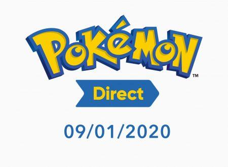 Svelato un nuovo Pokèmon Direct, in arrivo il prossimo 9 gennaio 2020
