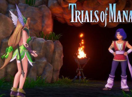 Trials of Mana: pubblicato un nuovo trailer dedicato a Hawkeye e Riesz