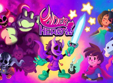 UnderHero: l'uscita rinviata al 27 febbraio sull'eShop di Nintendo Switch