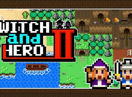 Witch and Hero 2: uno sguardo in video al titolo dai Nintendo Switch europei