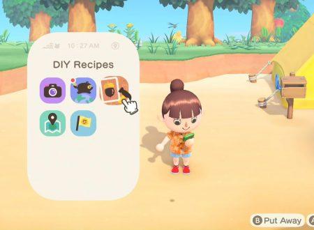 Animal Crossing: New Horizons, il titolo supporterà l'utilizzo dell'app del Nintendo Switch Online