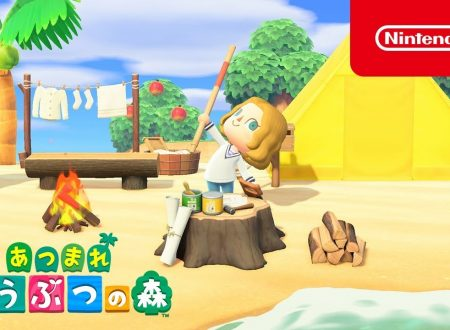 Animal Crossing: New Horizons, pubblicati due video commercial giapponesi