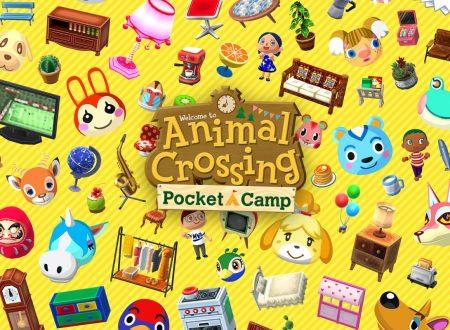 Animal Crossing: Pocket Camp, il titolo aggiornato alla versione 3.1.1 su iOS e Android