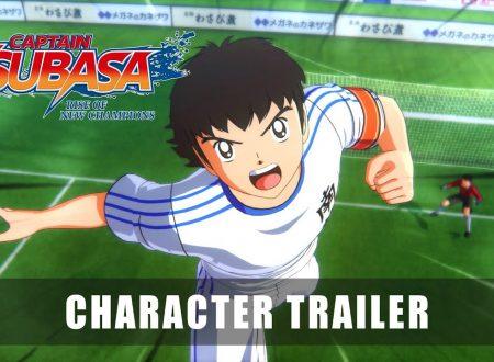 Captain Tsubasa: Rise of New Champions, pubblicato un trailer dedicato ai personaggi