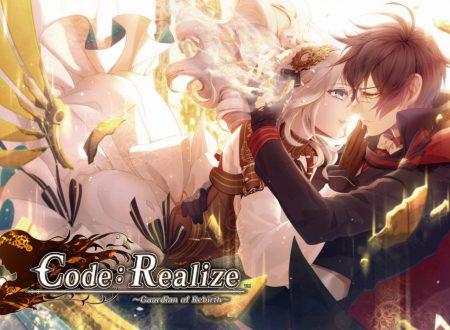Code: Realize ~Guardian of Rebirth~, uno sguardo al titolo dai Nintendo Switch europei