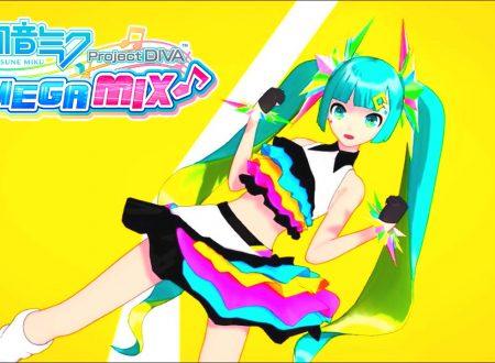 Hatsune Miku: Project Diva MegaMix: uno sguardo alla demo del titolo dai Nintendo Switch giapponesi