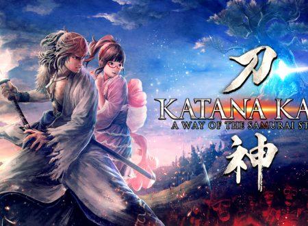 Katana Kami: A Way of the Samurai Story è in arrivo il 20 febbraio sui Nintendo Switch europei