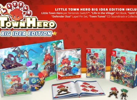 Little Town Hero: la Big Idea Edition in arrivo il 5 giugno sui Nintendo Switch europei