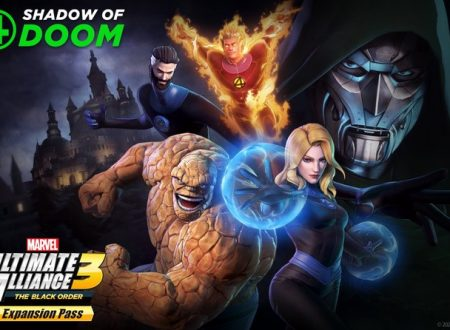 MARVEL ULTIMATE ALLIANCE 3: The Black Order, il DLC Fantastic Four: Shadow of Doom, in arrivo il 26 marzo su Nintendo Switch