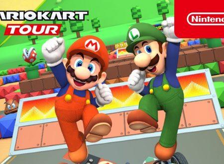 Mario Kart Tour: pubblicato il trailer dedicato al Tour Mario Bros, ora nel titolo mobile