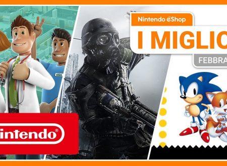 Nintendo eShop: video highlights dei titoli del mese di febbraio 2020