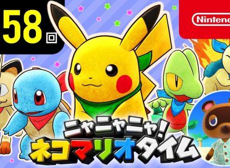 Nyannyan Neko Mario Time: pubblicato l'episodio 158 dello show felino con Mario e Peach