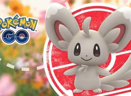 Pokémon GO: ora disponibile l'evento dedicato al capodanno lunare con Minccino
